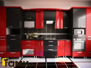 Кухня из пластика18
