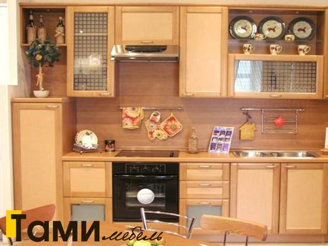 Кухня с фасадами из рамочного мдф1