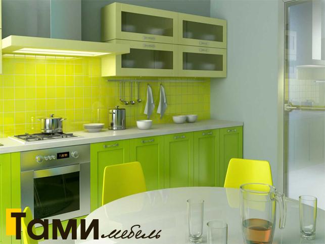 Кухня с фасадами из рамочного мдф11