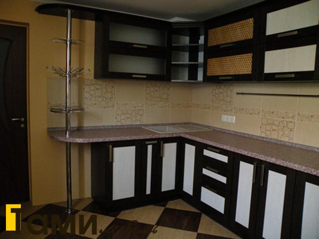 Кухня с фасадами из рамочного мдф3
