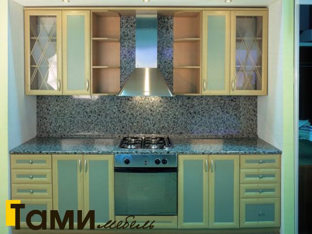 Кухня с фасадами из рамочного мдф4
