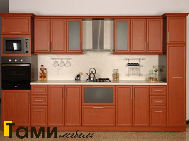 Кухня с фасадами из рамочного мдф5