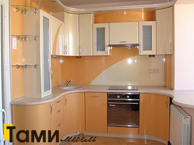 Кухня с фасадами из рамочного мдф7