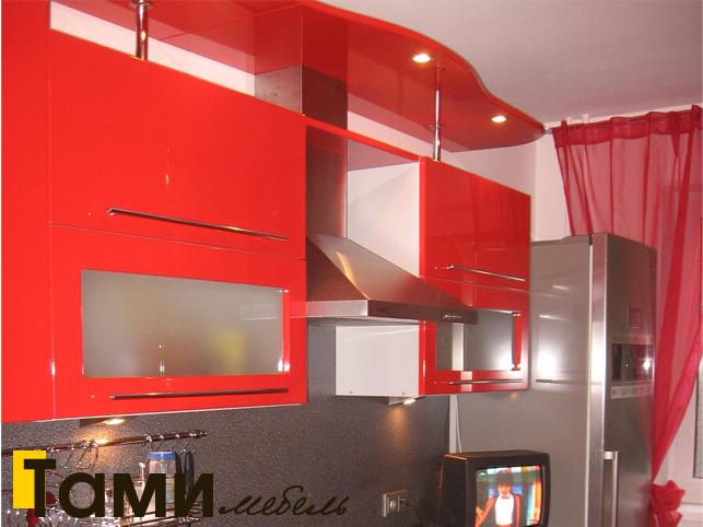 Кухня с фасадами из рамочного мдф9