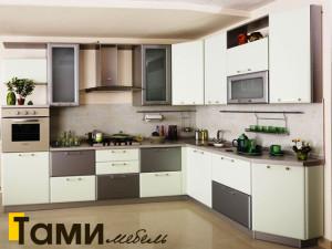 Кухня с фасадами пленочный мдф10