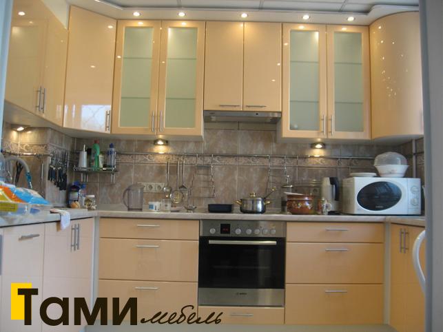 Кухня с фасадами пленочный мдф12