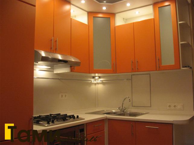 Кухня с фасадами пленочный мдф13