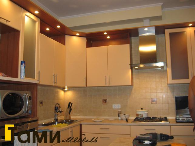 Кухня с фасадами пленочный мдф14