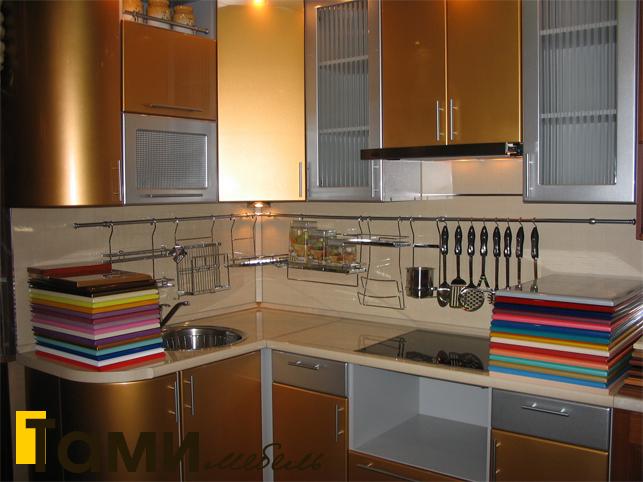 Кухня с фасадами пленочный мдф15