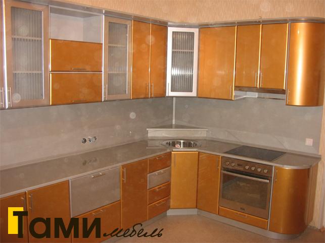 Кухня с фасадами пленочный мдф16