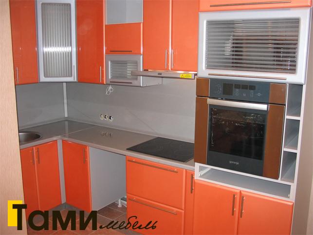Кухня с фасадами пленочный мдф20
