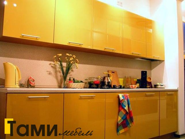 Кухня с фасадами пленочный мдф23