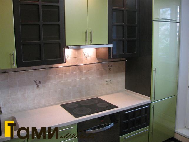 Кухня с фасадами пленочный мдф25