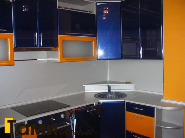 Кухня с фасадами пленочный мдф26