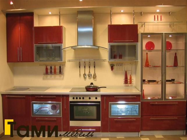 Кухня с фасадами пленочный мдф29