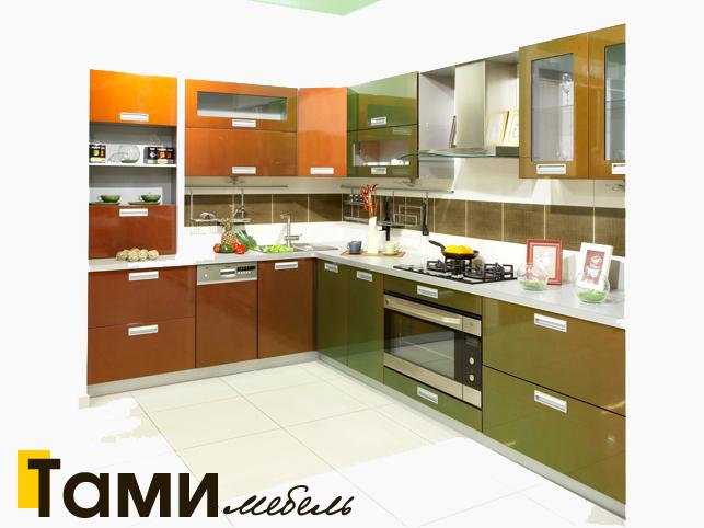 Кухня с фасадами пленочный мдф30