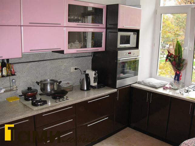 Кухня с фасадами пленочный мдф31