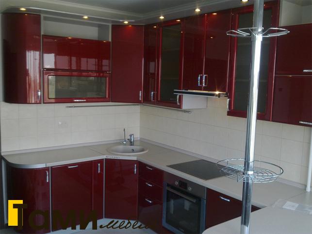 Кухня с фасадами пленочный мдф3