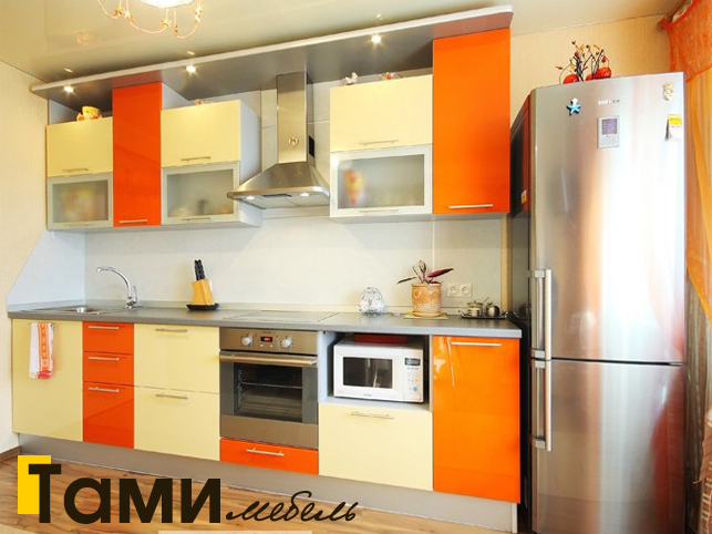 Кухня с фасадами пленочный мдф32