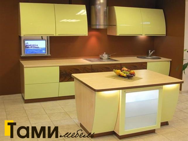 Кухня с фасадами пленочный мдф33