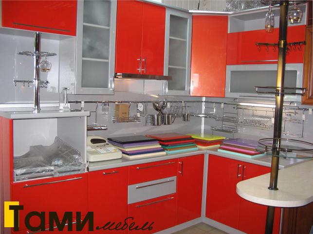 Кухня с фасадами пленочный мдф35
