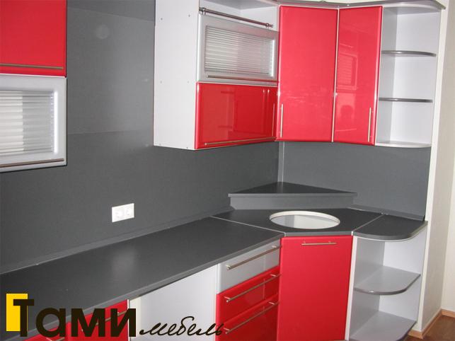 Кухня с фасадами пленочный мдф36