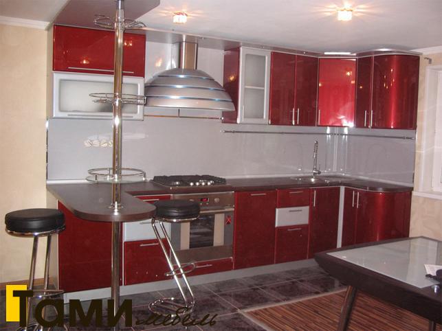 Кухня с фасадами пленочный мдф37