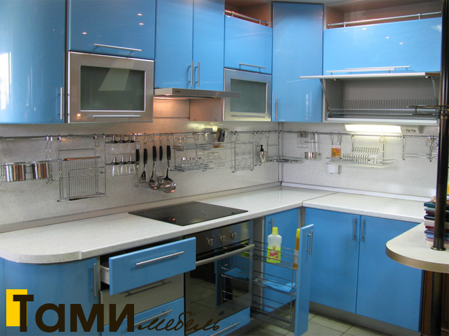 Кухня с фасадами пленочный мдф38