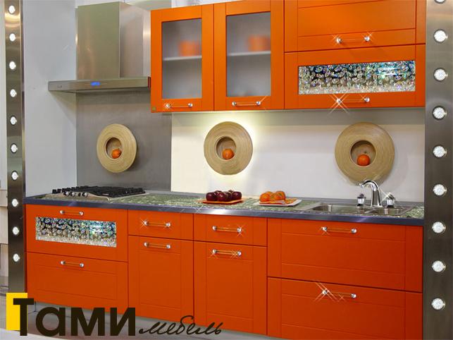 Кухня с фасадами пленочный мдф40