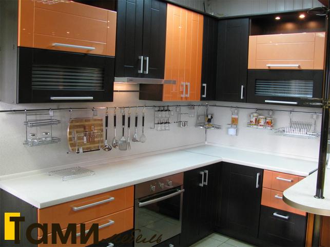 Кухня с фасадами пленочный мдф41