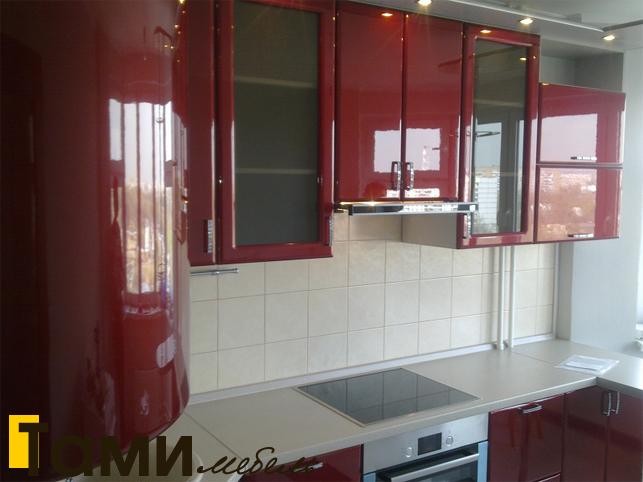 Кухня с фасадами пленочный мдф42