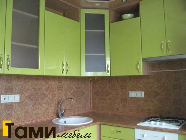 Кухня с фасадами пленочный мдф44