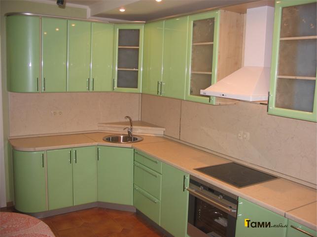 Кухня с фасадами пленочный мдф47