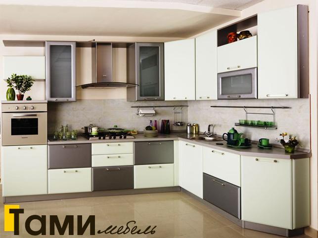 Кухня с фасадами пленочный мдф48