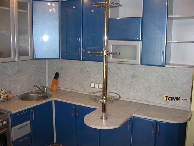 Кухня с фасадами пленочный мдф50