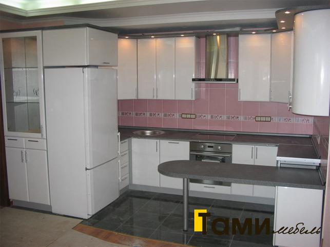 Кухня с фасадами пленочный мдф51