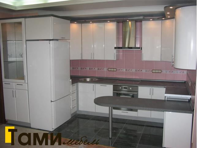 Кухня с фасадами пленочный мдф5