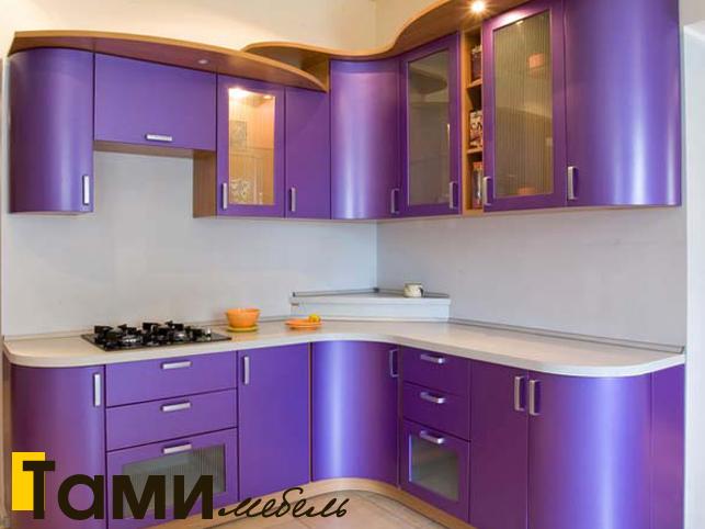 Кухня с фасадами пленочный мдф52