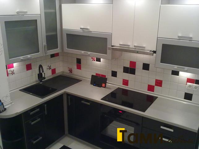 Кухня с фасадами пленочный мдф53