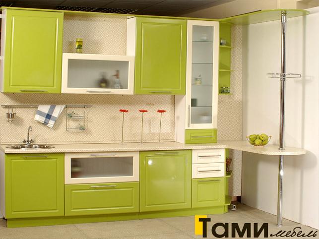Кухня с фасадами пленочный мдф54