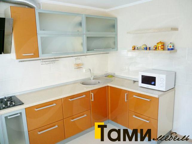 Кухня с фасадами пленочный мдф55