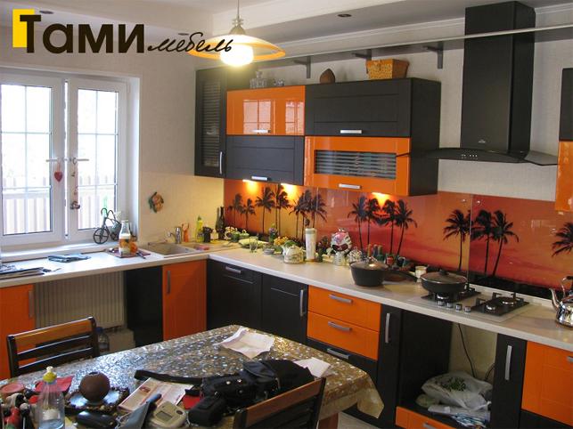 Кухня с фасадами пленочный мдф56