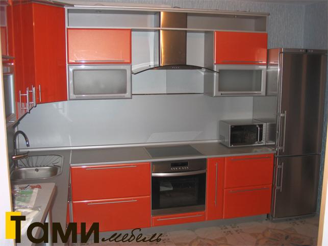Кухня с фасадами пленочный мдф57
