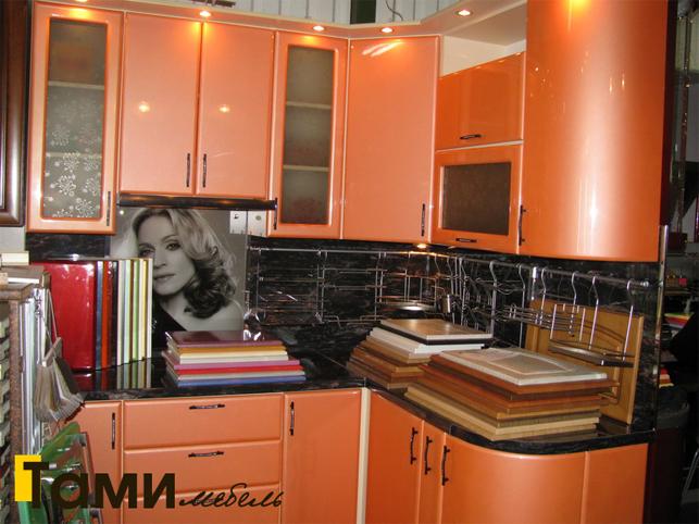 Кухня с фасадами пленочный мдф60