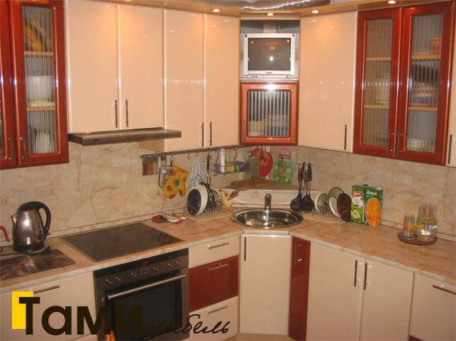 Кухня с фасадами пленочный мдф7