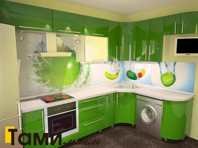 Кухня с фасадами пленочный мдф8