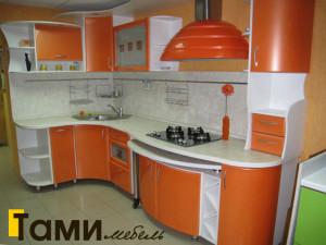 Кухня с фасадами пленочный мдф9