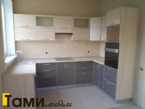кухня с фасадами из дсп21