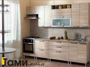 кухня с фасадами из дсп4