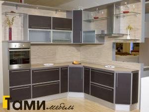 кухня с фасадами из дсп7